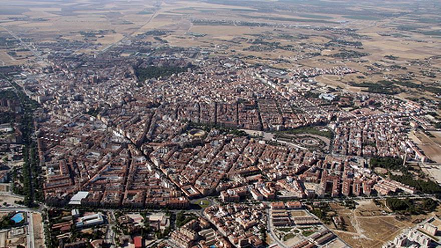 Vista aérea de Albacete