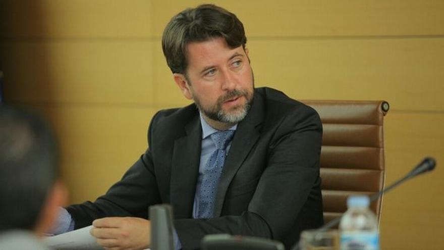 Carlos Alonso, presidente del Cabildo de Tenerife (CC)