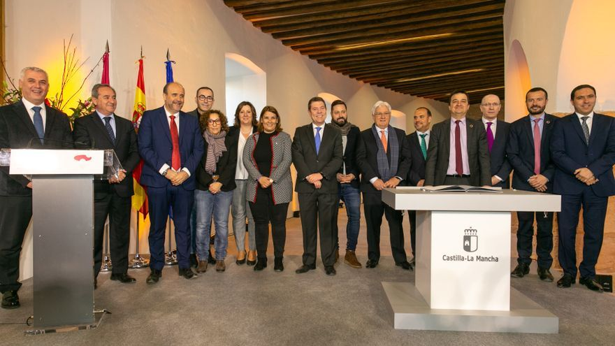 Firma del Pacto contra la Despoblación en Castilla-La Mancha