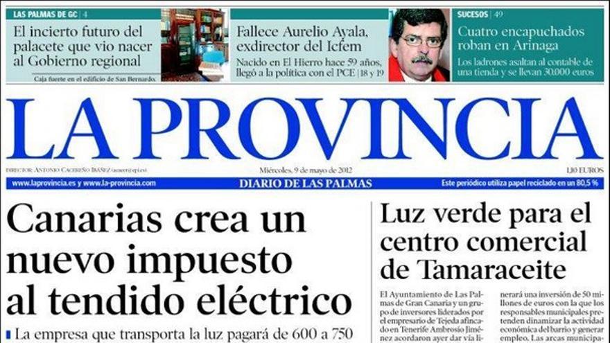 De las portadas del día (09/05/2012) #1