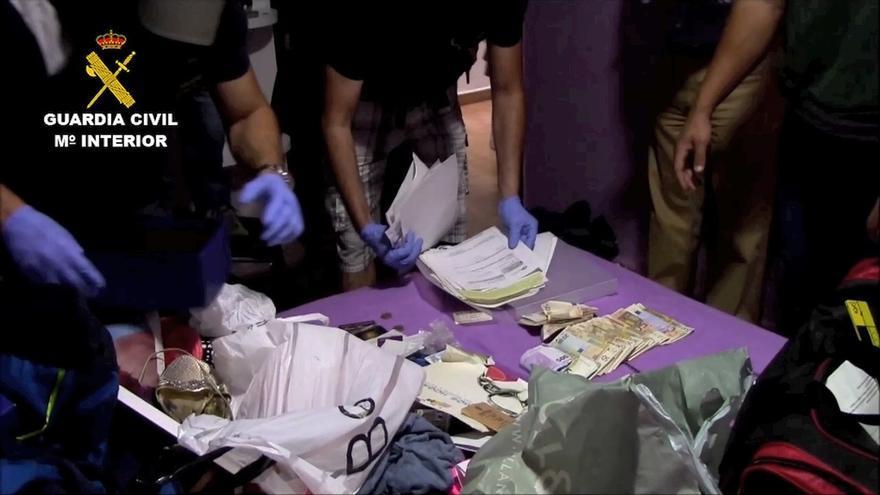 La Guardia Civil y la BKA alemana desmantelan una red de tráfico de hachís que operaba desde Melilla