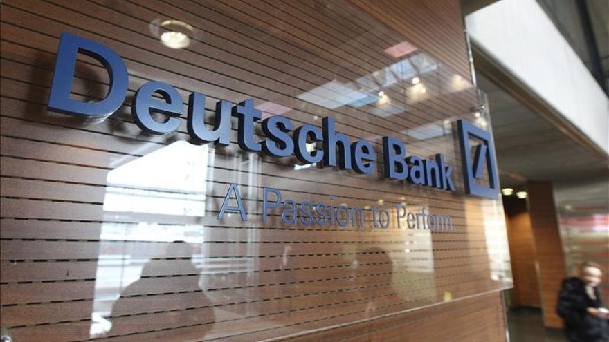 Deutsche Bank pierde 2.153 millones de euros en el cuarto trimestre de 2012