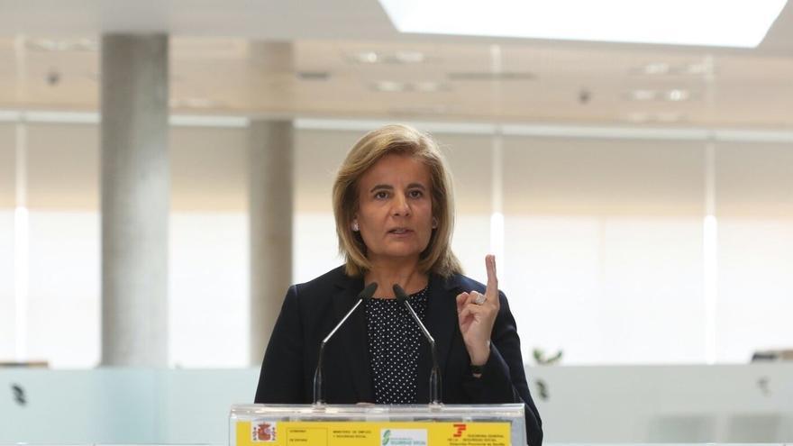 Fátima Báñez afirma que 240.000 mujeres cobran en la actualidad el complemento por maternidad en sus pensiones