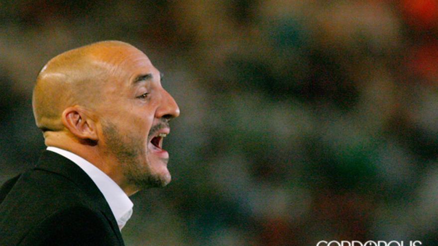 Albert Ferrer, en el último partido en El Arcángel | MADERO CUBERO