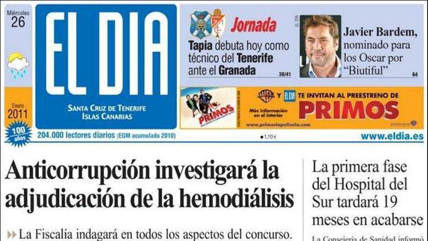 De las portadas del día (26/01/11) #4