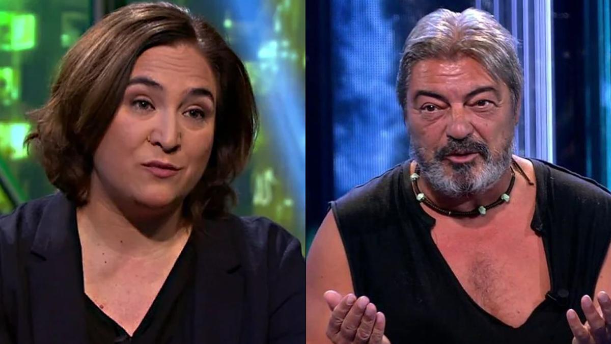 Ada Colau en 'laSexta Noche' y Antonio Canales en 'Deluxe'