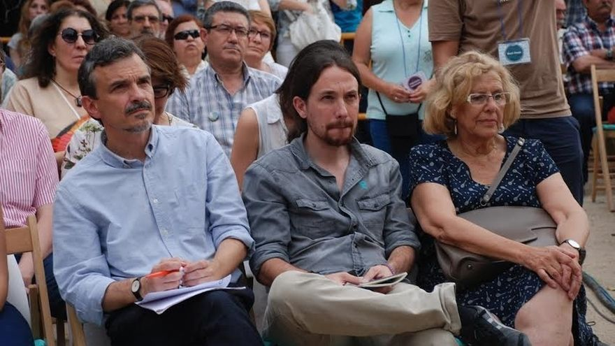 Manuela Carmena se reúne este viernes con Pablo Iglesias para hablar sobre las primeras semanas de gobierno