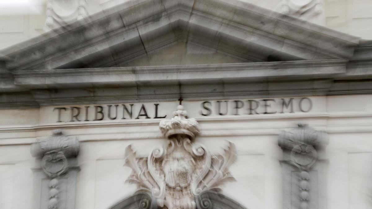Vista general del Tribunal Supremo