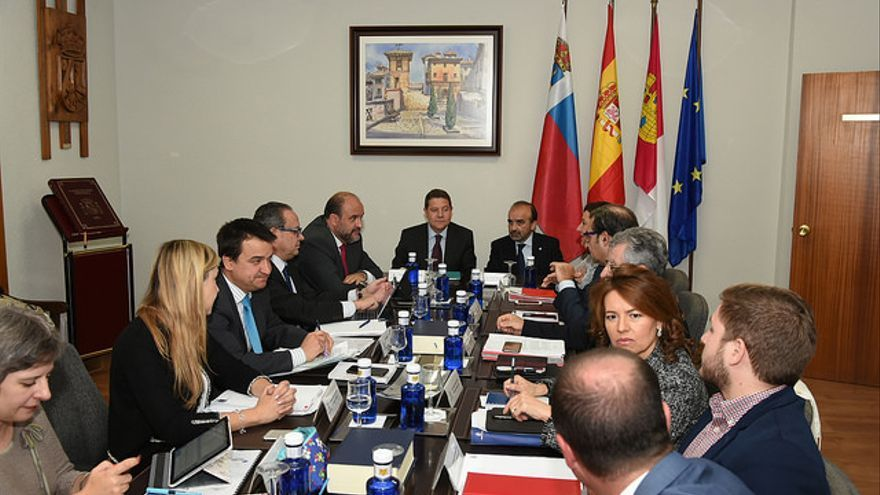 Reunión del Consejo de Gobierno con carácter itinerante en Molina de Aragón (Guadalajara)