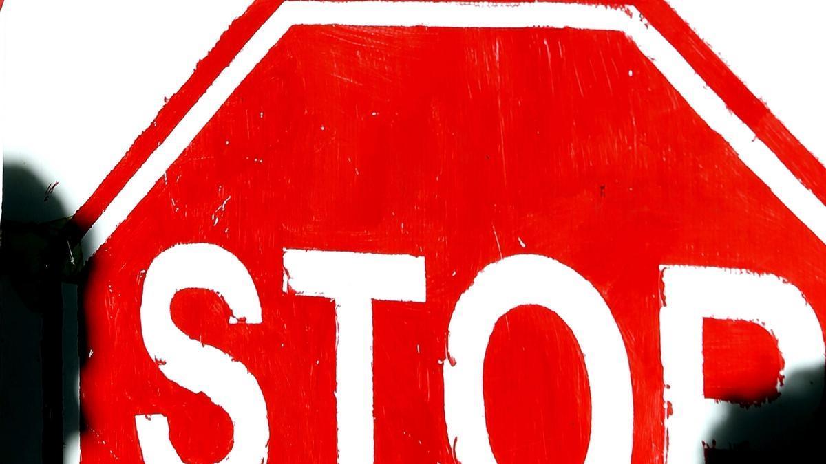 Vista de una concentración de Stop Desahucios.