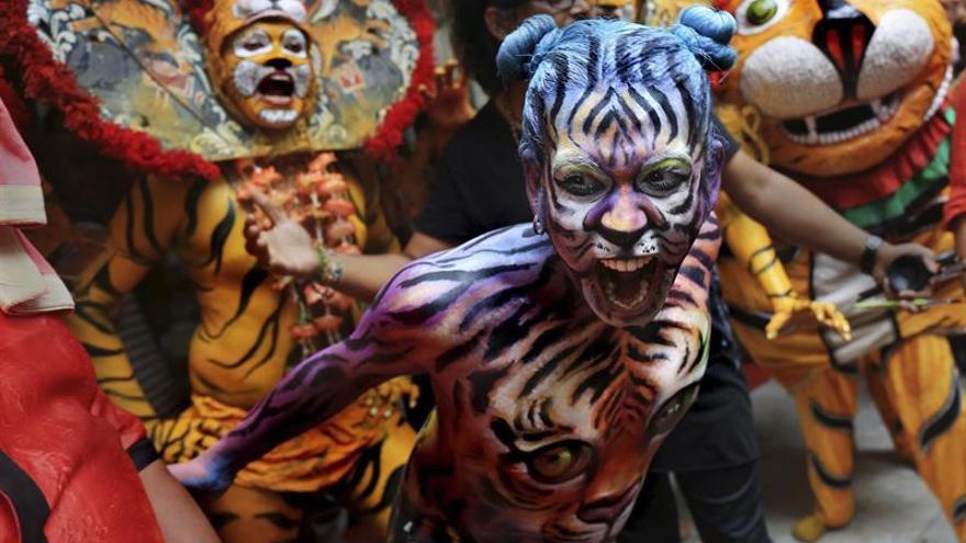 La India busca en el tigre un reclamo turístico