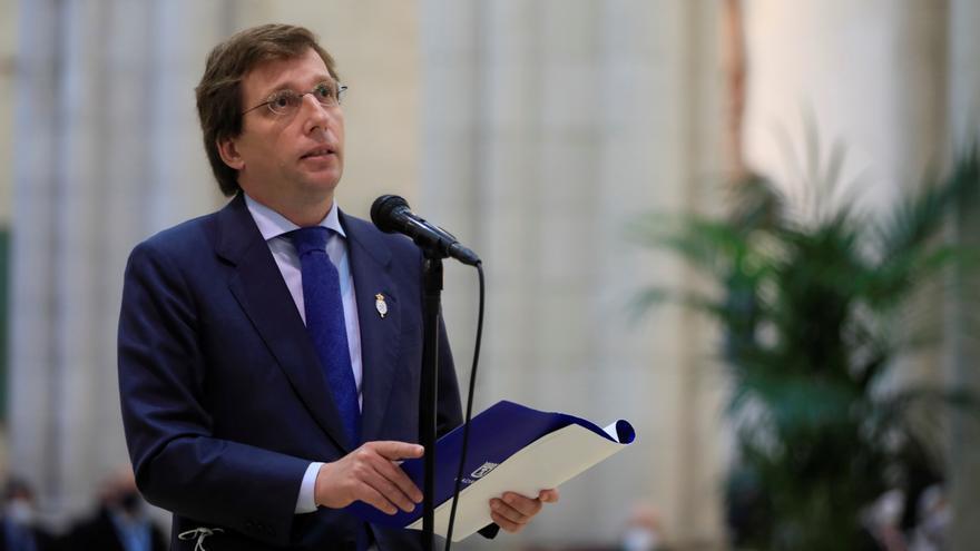 Almeida ve peor que ERC y Bildu dirijan el Estado que el 'chat' de militares