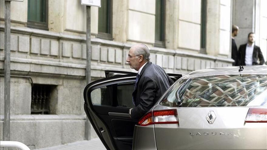 Los accionistas de Bankia reclaman fianzas de 4.000 millones a los imputados
