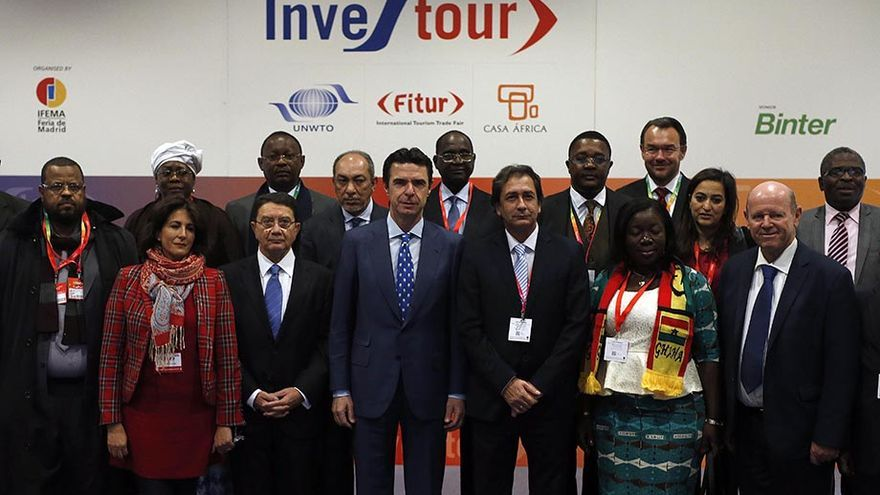Inauguración de 'Investour', el Foro de Inversiones y Negocios Turísticos en África.