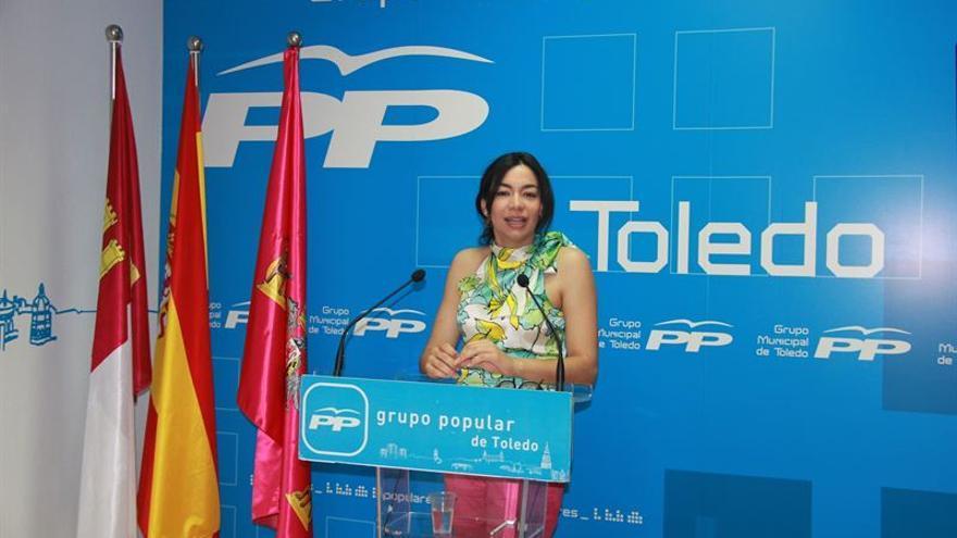 La diputada regional del PP Claudia Alonso / Foto: EUROPA PRESS