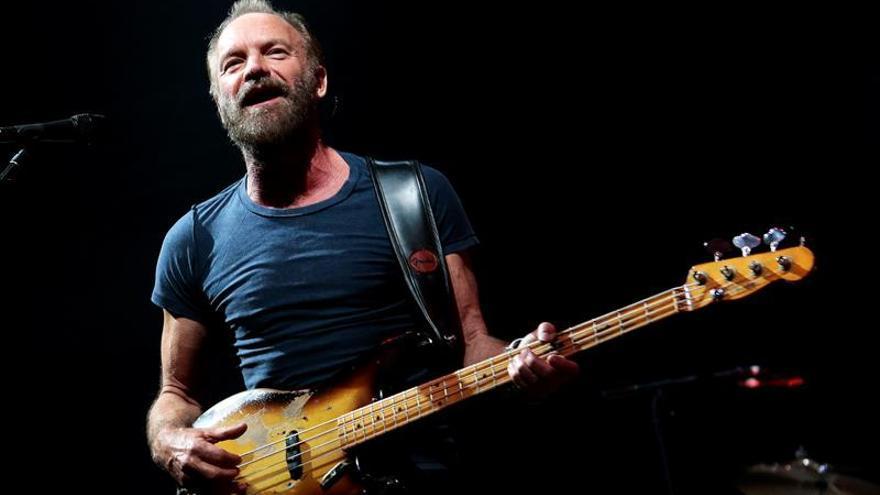 Sting actuará el 21 de marzo en Barcelona en la gira de su nuevo álbum