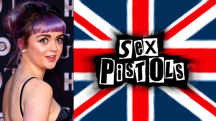 Maisie Williams estará en 'Pistol'