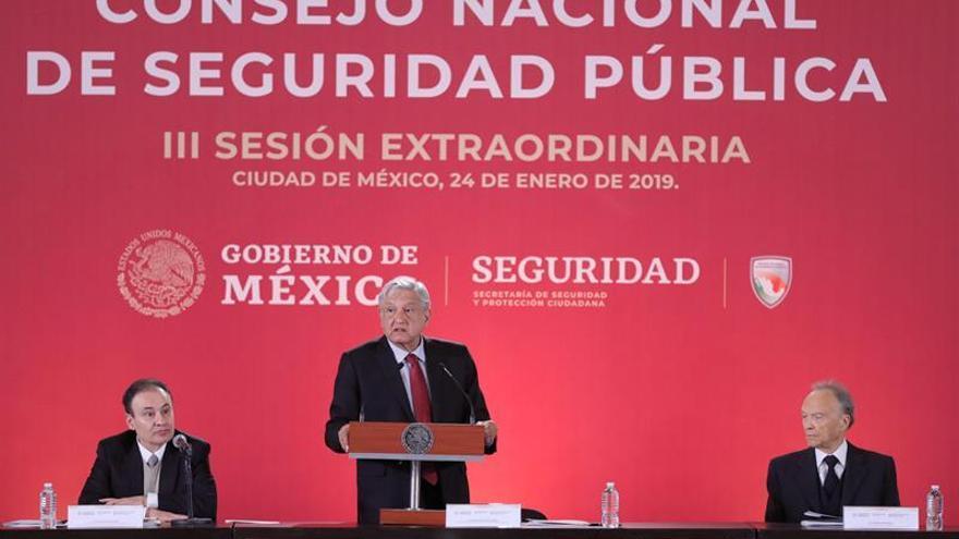 López Obrador agradece el apoyo de los gobernadores contra la corrupción en México