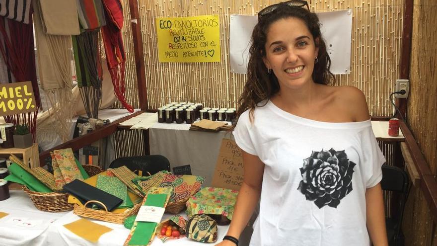 Natalia Díaz Luis, creadora de la empresa de envoltorios reutilizables Eco-Alpispa.