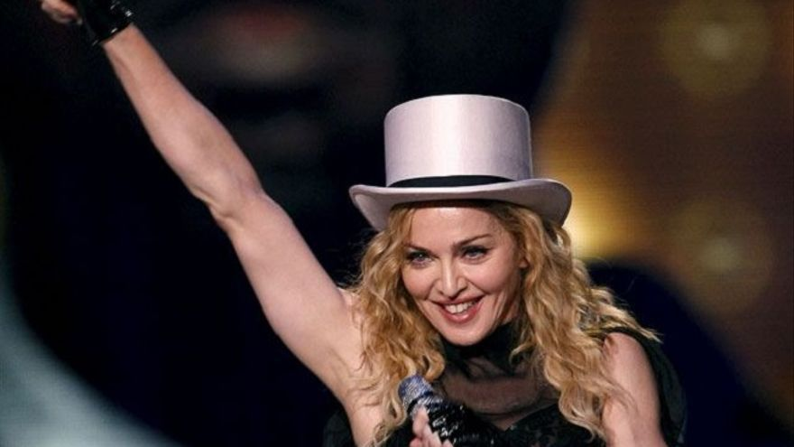 Madonna, reina