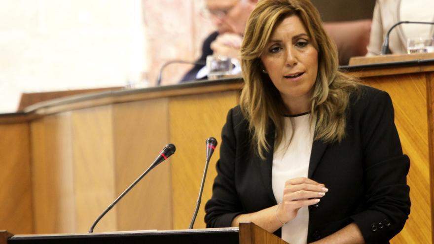 Susana Díaz anuncia un recurso en los tribunales por la negativa del Gobierno a modificar la financiación autonómica