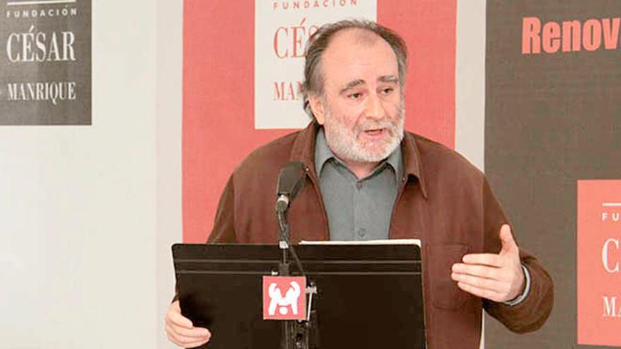 Fernando Gómez Aguilera, director de la Fundación César Manrique.