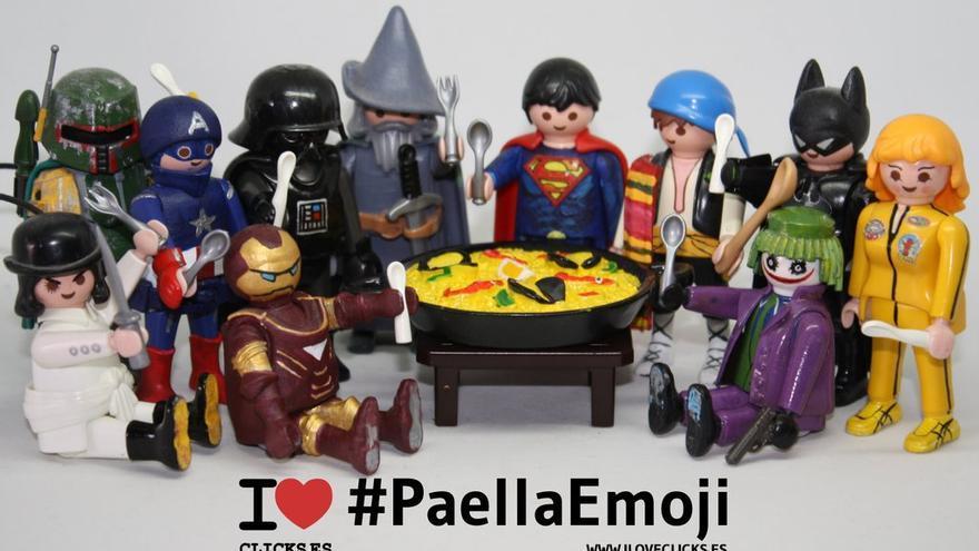 I love #PaellaEmoji