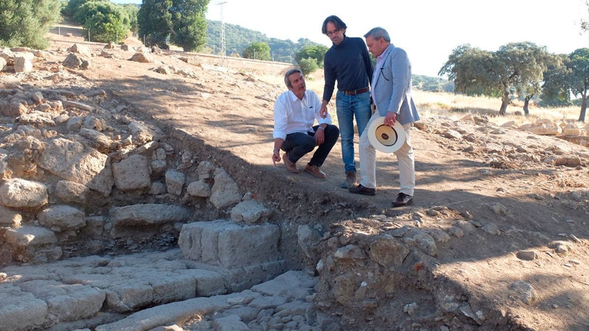 Imagen de archivo de una excavación en Medina Azahara.