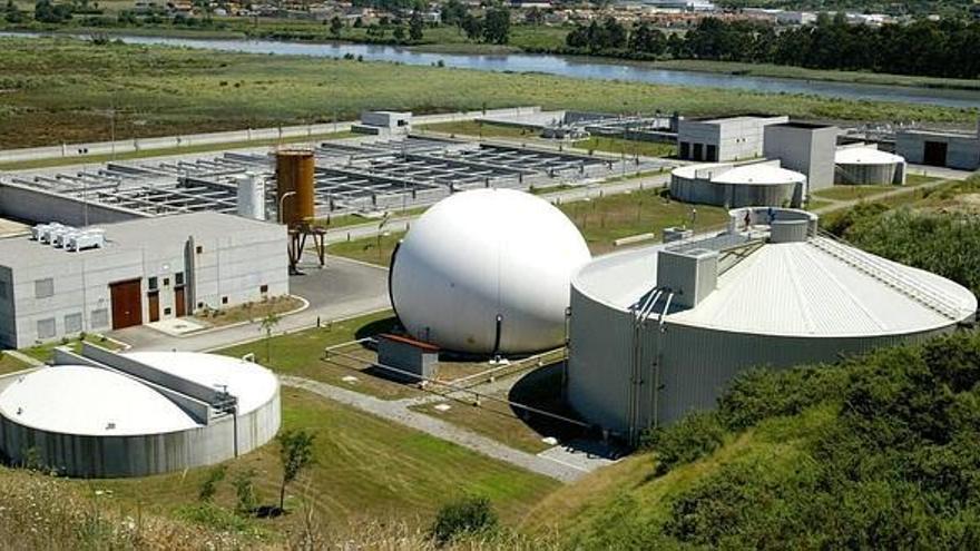 Estación Depuradora de Aguas Residuales de Vuelta Ostrera en Suances.
