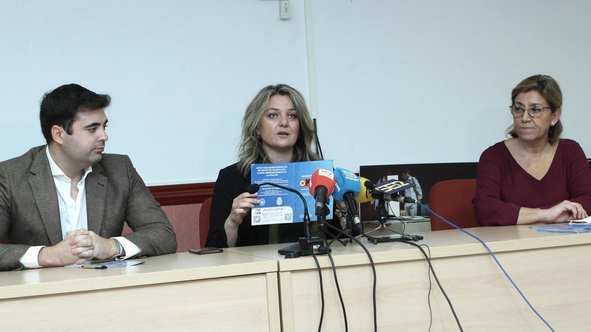 Presentación de la campaña en el Ayuntamiento de Lucena