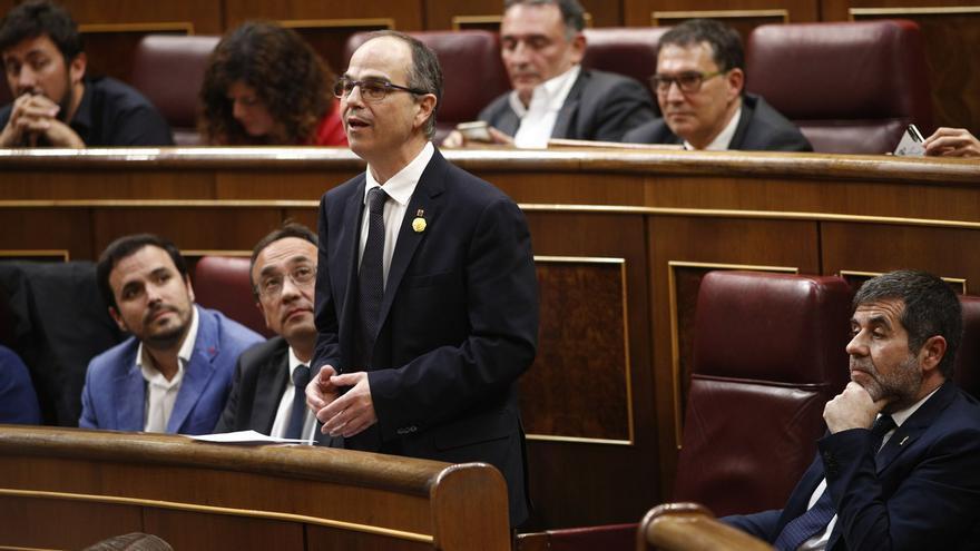 Turull propuso a Puigdemont no convocar elecciones y ceder la presidencia a Junqueras