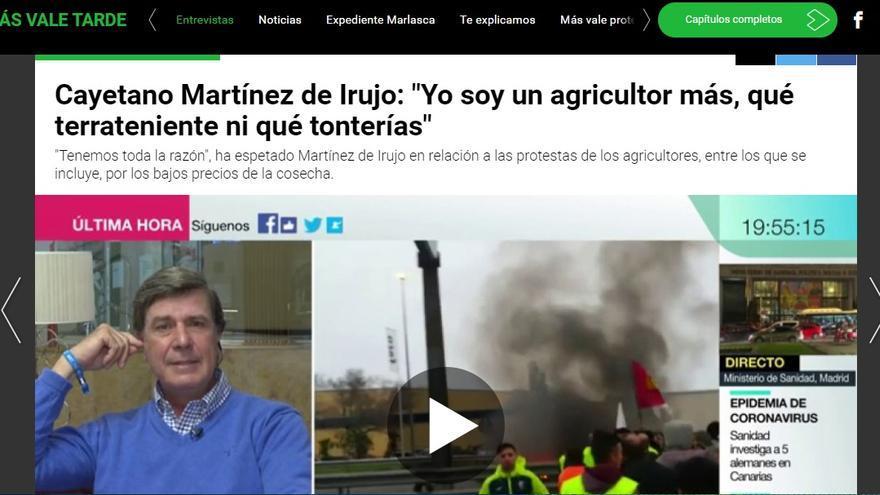 Web de La Sexta