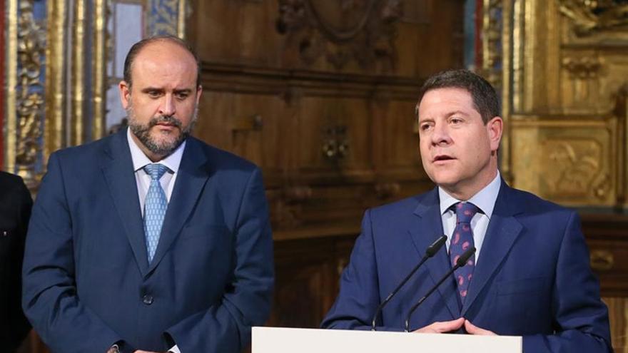 Emiliano García-Page y José Luis Martínez Guijarro