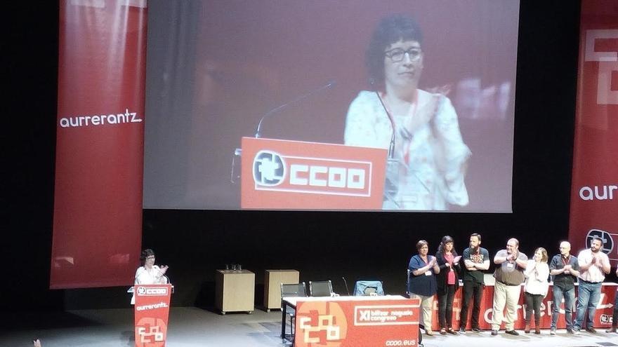 """García asume el liderazgo de CCOO Euskadi con el objetivo de reforzar el sindicato como """"referente sociopolítico"""""""