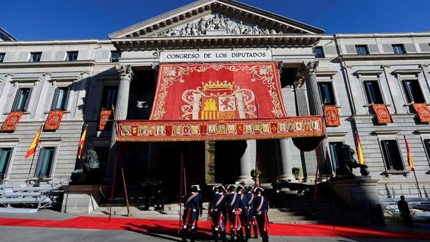 Las Cortes Generales aumentan su presupuesto un 4,59 por ciento para 2019