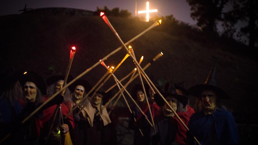 Imagen de archivo de 'La noche de Las Brujas' de Breña Baja.