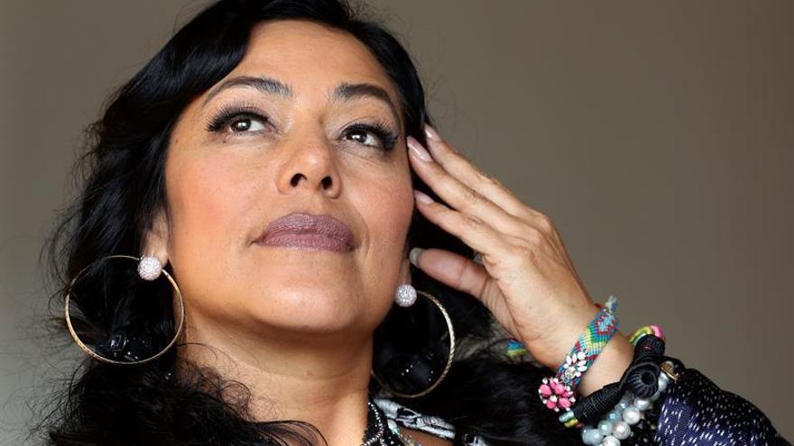 Lila Downs presenta en Barcelona su nuevo disco: un homenaje a las mujeres