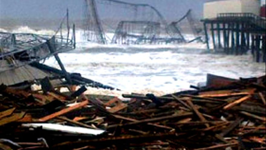 """""""Sandy"""" también devasta """"Jersey Shore"""""""