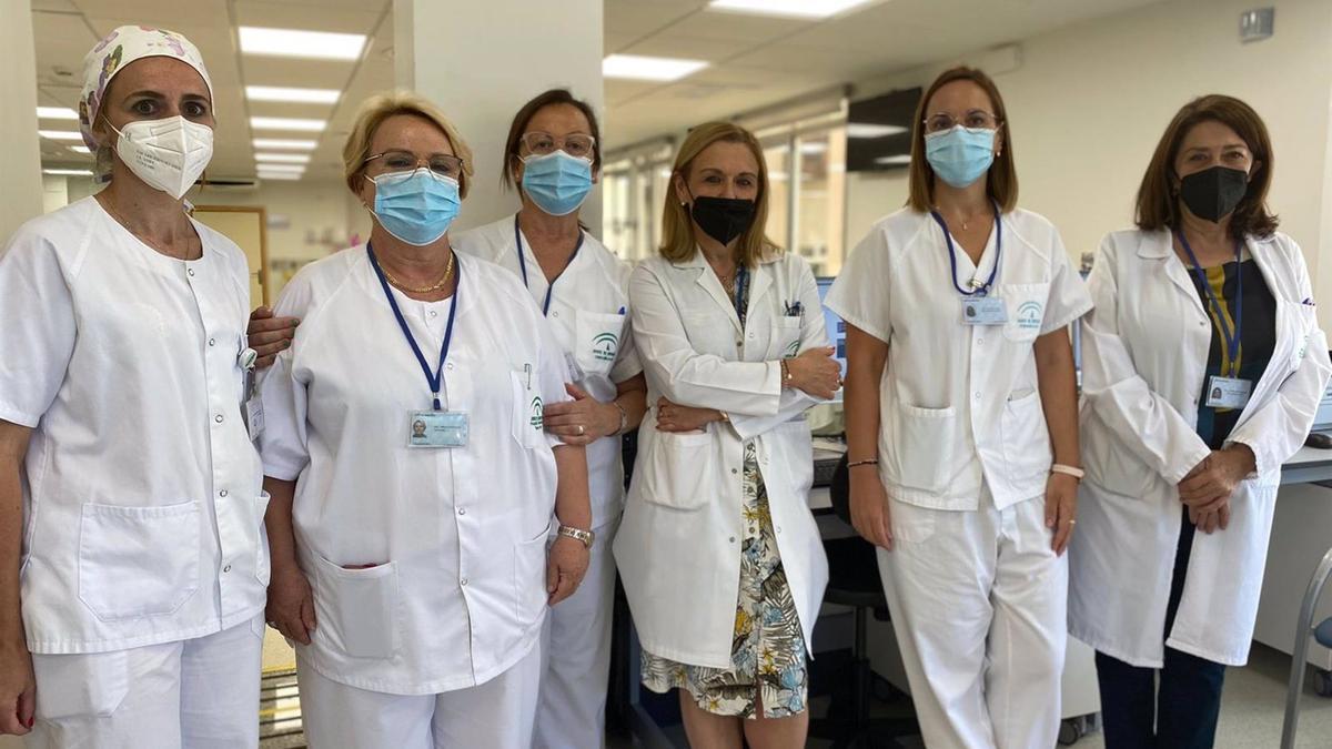 Profesionales de la Unidad de Tratamiento Ambulatorio del Reina Sofía.