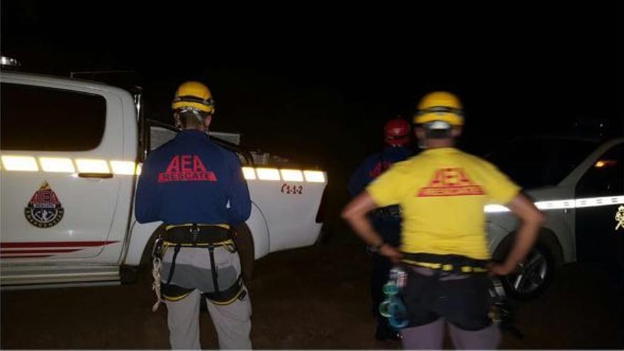En la imagen, dispositivo de rescate. Foto: AEA