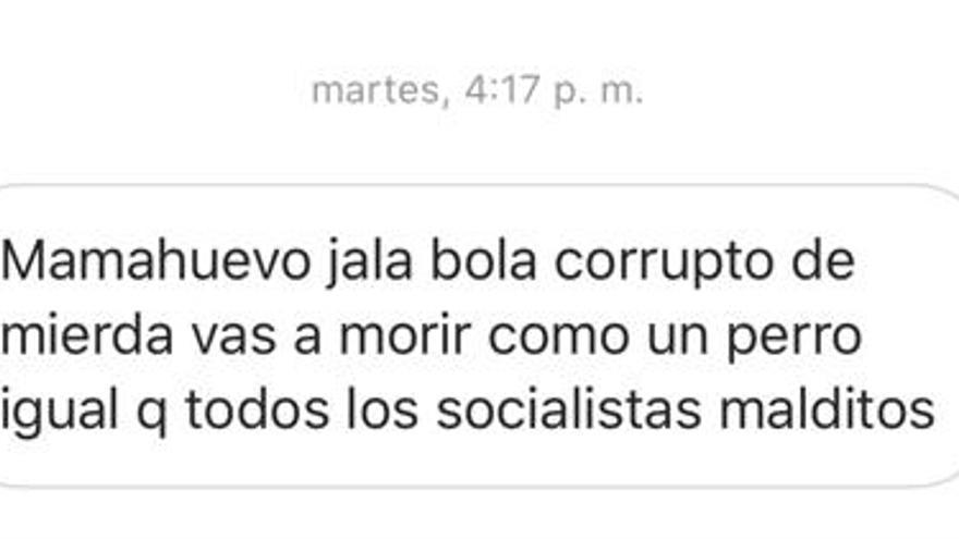Insultos hacia Ábalos tras su encuentro con la vicepresidenta venezolana.