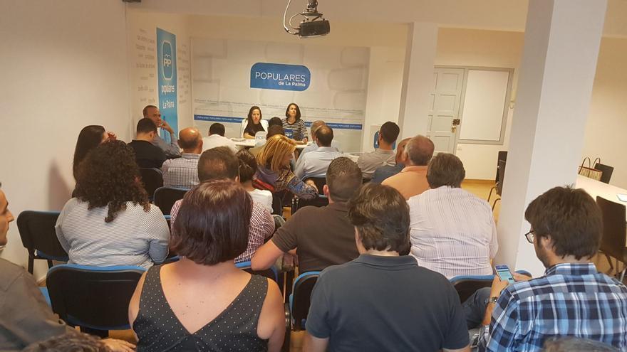 Reunión de la Junta Directiva Insular del PP en La Palma.