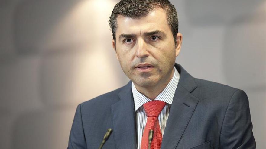El presidente del Partido Popular en Tenerife, Manuel Domínguez. EFE/Ramón de la Rocha