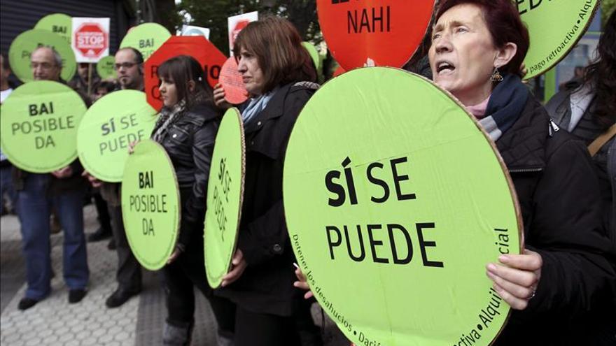 La Ertzaintza impide un escrache en casa de un diputado del PP en San Sebastián