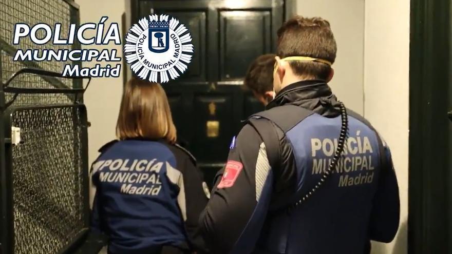 Seis detenidos este fin de semana por fiestas ilegales en pisos de Chamberí