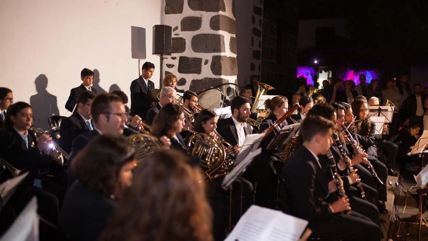 Imagen de archivo de la Banda Municipal de Música de Los Llanos de Aridane.