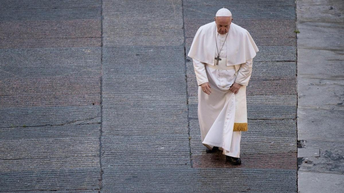 El Papa Francisco en una imagen de archivo.
