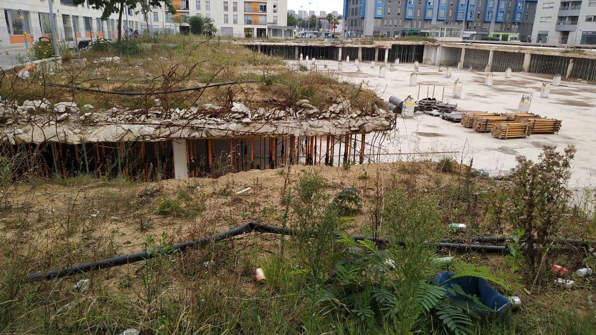 Gesvican podrá comenzar a reconstruir el parking derruido tras la concesión de la licencia municipal.