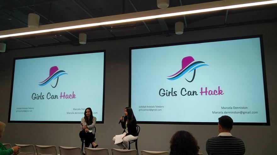 Girls Can Hack es un club de interesados en la ciberseguridad que organiza conferencias, envía propuestas de trabajo... (Imagen: Cedida por Soledad Antelada)