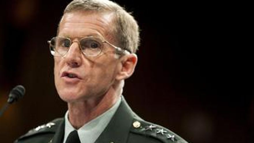 El general McChrystal. (EUROPA PRESS)